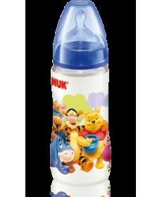 НУК First Choice бутылочка пласт.разноц.+соска 300мл