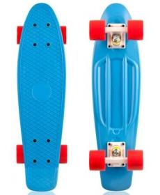 "Скейтборд Fish, размер 22""*6"", колеса: 60*45мм  78 - Синий"