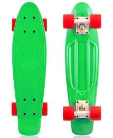 "Скейтборд Fish, размер 22""*6"", колеса: 60*45мм  78 - Зеленый"