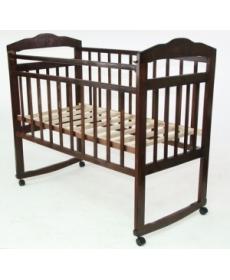 Кроватка детская МИШУТКА-13 (колесо- качалка)