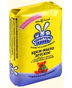 УШАСТЫЙ НЯНЬ Крем-мыло с экстрактом ромашки 90г