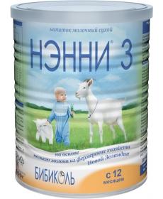Нэнни 3 Молочная смесь 400г