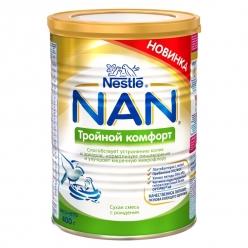 Nestle NAN Тройной Комфорт - молочная смесь 400г