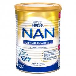 Nestle NAN Антирефлюкс молочная смесь 400г