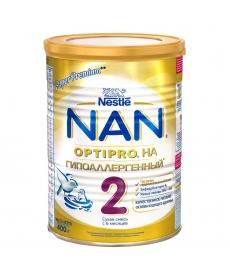 Nestle NAN 2 Гипоаллергенный - молочная смесь 400г