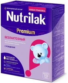 Nutrilak Смесь Безлактозный 350г 0-12
