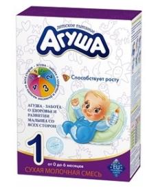 Агуша Смесь молочная сухая 350г Original-1