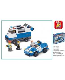 Конструктор Полицейский спецназ, 337 эл.