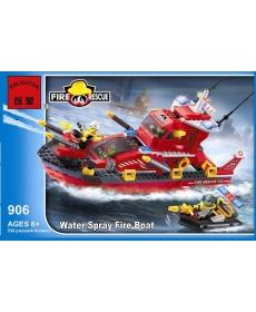 """Конструктор """"Пожарная техника"""" 906 в/к 339 дет."""