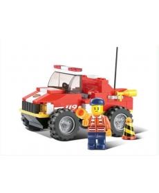 Конструктор пластмассовый Sluban Пожарные спасатели 2831112