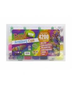 Набор резинок для плетения браслетов Band Accessory Case (Rainbow Loom)