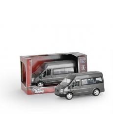 Форд Транзит 1:32, инерц., пластиковая машинка, свет J10003