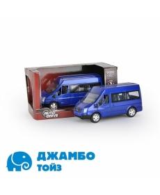 Форд Транзит 1:32, инерц., пластиковая машинка, свет J10005