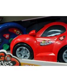 Машина гоночная красная на радиоуправлении