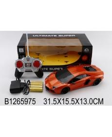 Машинка р/у с пультом управления, зарядным устройством, свет. эффект., в/к 31,5*15,5*13 см