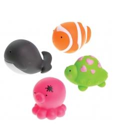 """Мир Детства - Игрушка-брызгалка для ванны """"Жители океана"""""""