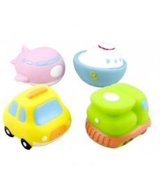 """Мир Детства - Набор игрушек-брызгалок для ванны """"Кругосветное путешествие"""""""