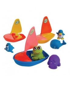 """Мир Детства - Игрушка для ванной """"Удивительная регата"""""""