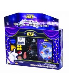 """Набор """"Маленький маг"""" 100 фокусов, DVD диск в комплекте"""