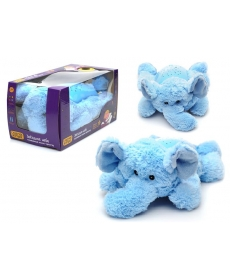 """Слонёнок ночник проектор """"Звездное небо"""" голубой"""