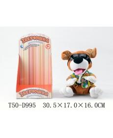 """Собака """"Повторюшка"""" со звуком, на батарейках - CL1505B"""