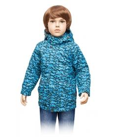 """Ветровка для мальчика """"Тетрис""""КМ-15-5 (хлопок) (110,116,122,128) Lapland"""