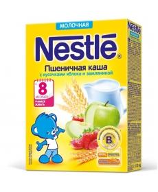 Nestle Каша Молочная Пшеница/Земляника/Яблоко 220г