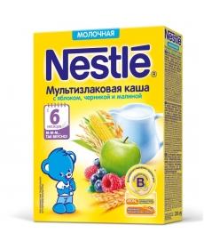 Nestle Каша Молочная Яблоко/черника/малина 220г