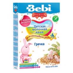Bebi Молочная Каша Гречка 200г