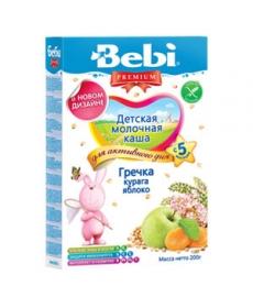 Bebi Молочная Каша - Гречка/Курага/Яблоко 200г