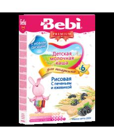 Bebi Молочная Каша - Печенье с ежевикой 200г
