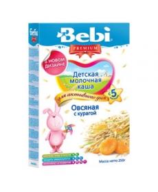 Bebi Молочная Каша Овсянка/Курага 250г