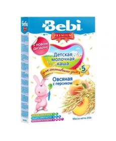 Bebi Молочная Каша Овсянка/Персик 250г