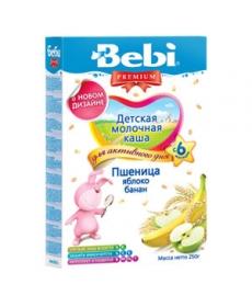 Bebi Молочная Каша Пшеница/Яблоко/Банан 250г