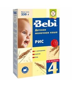 Bebi Молочная Каша Рис 250г