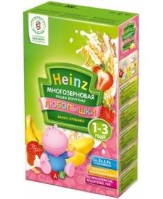 Heinz Каша Любопышки многозерновая фруктово-йогуртная банан/клубника 200г