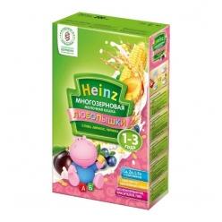 Heinz Любопышки Каша многозерновая фруктово-молочная слива/абрикос/черника 200г