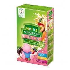 Хайнц каша молочная 200г многозерновая слива/вишня/черная смородина