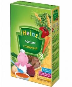Heinz Супчик 160г Борщик/Говядина