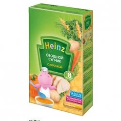 Heinz Супчик 160г Овощи/Курочка