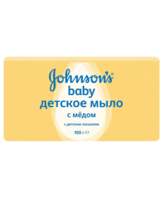 Johnson & Johnson Мыло детское с медом 100г
