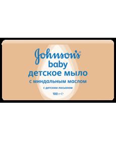 Johnson & Johnson Мыло детское с миндалем 100г