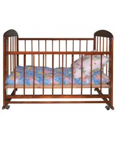 Кроватка детская МИШУТКА-15 (ПВХ) ТЕМНавто стенка