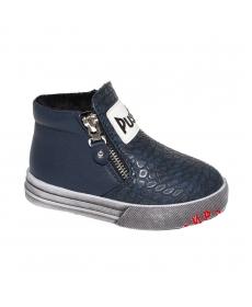 F4741  Ботинки для мальчиков  р.26-31  синий