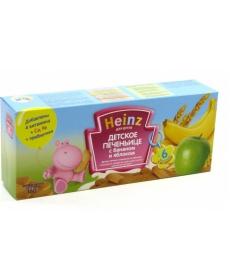 Heinz Печенье 160г Банан/Яблоко
