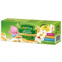 Heinz Печенье 160г Яблоко