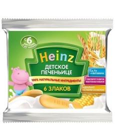 Heinz Печенье 60г 6 Злаков Сашет