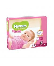 Huggies Ultra Comfort Подгузники для девочек (3) 5-9 кг - 94 шт.