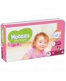 Huggies Ultra Comfort Подгузники для девочек (4) 10-16 кг - 68 шт
