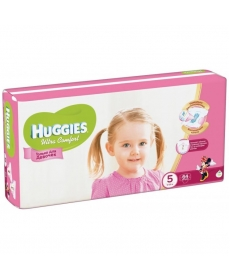 Huggies Ultra Comfort Подгузники для девочек (5) 12-22 кг - 64 шт